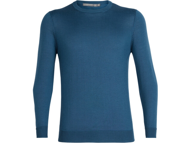 Icebreaker Quailburn Sweat-shirt à col ras-du-cou Homme, thunder